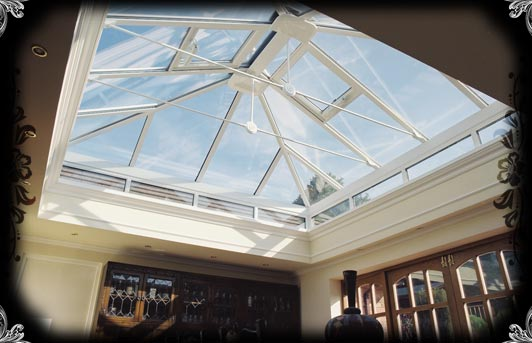 Custom Designed Skylights - GLASS ROOF - Skylight - Lantern - BLUE ...